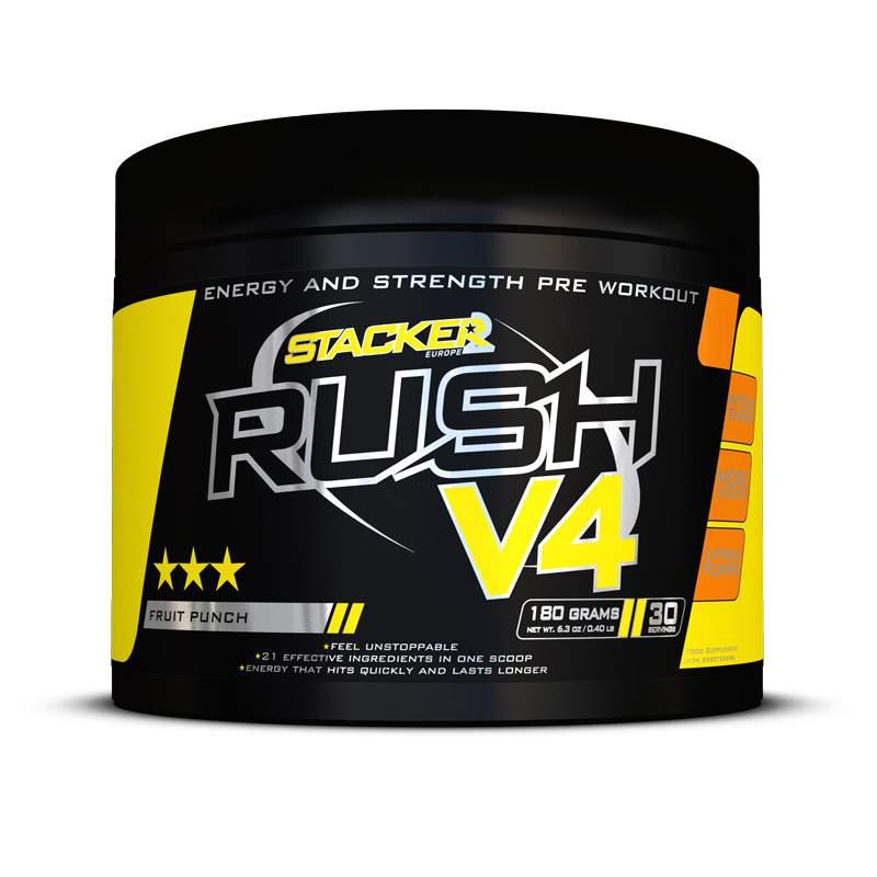 Stacker RUSH v4 Pre Workout
