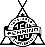 Ferrino 150 years logo