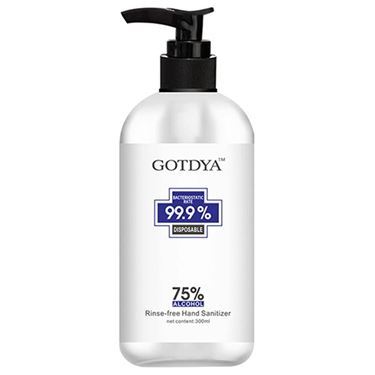 Picture of GODTYA - HAND SANITISER 300ML 75% ETHANOL