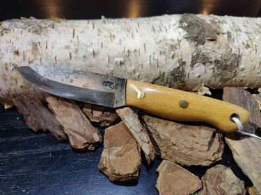 Picture of GECKO Custom Knife, Small with Beech Wood Handle