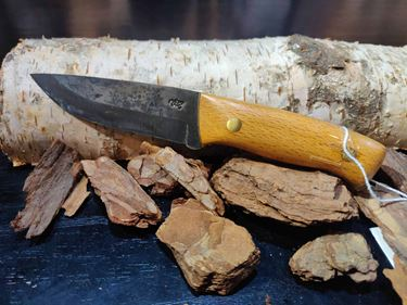Picture of GECKO Custom Knife, Medium with Beech Wood Handle