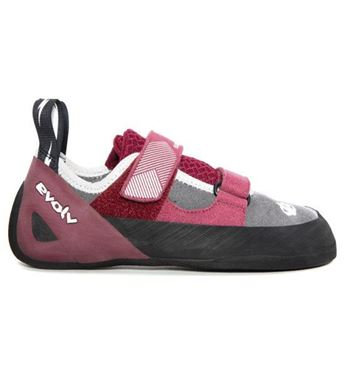 Picture of EVOLV ELEKTRA WOMEN CLIMBING SHOES - MERLOT/GRAY