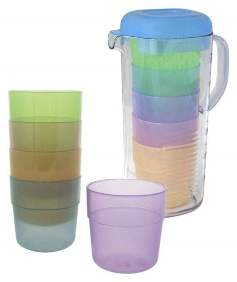 Picture of EUROTRAIL - LEMONADE GLASSES WITH CAN
