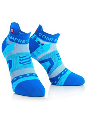 Picture of COMPRESSPORT - RACING SOCK RUN BLUE