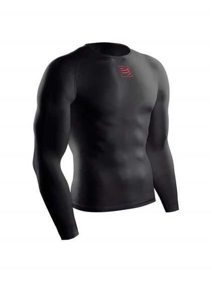 Picture of COMPRESSPORT - 3D THERMO LS SHIRT ULTRALIGHT