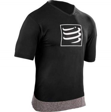 Picture of COMPRESSPORT - TRAINING T SHIRT BLACK