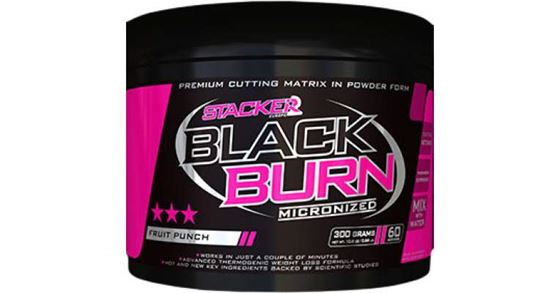 Picture of STACKER 2 - BLACKBURN MICRONIZED FAT BURNER