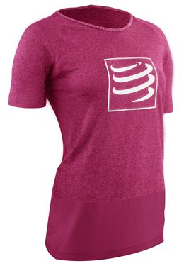 Picture of COMPRESSPORT - TRAINING T SHIRT W PINK