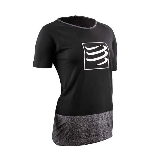 Picture of COMPRESSPORT - TRAINING T SHIRT W BLACK