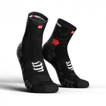 Picture of COMPRESSPORT - PRO RACING RUN SOCK HIGH CUT V3.0 BLACK
