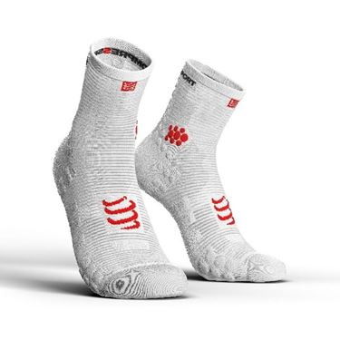 Picture of COMPRESSPORT - PRO RACING RUN SOCK HIGH CUT V3.0 WHITE