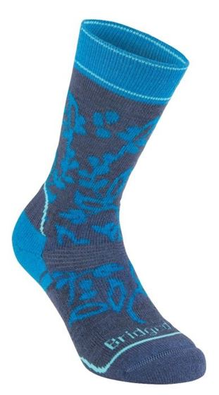 Picture of BRIDGEDALE - MID WEIGHT WOMEN HIKE SOCK