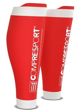 Picture of COMPRESSPORT - R2 V2 CALF SLEEVES RED