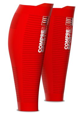 Picture of COMPRESSPORT - R2 V2 ULTRA LIGHT CALF SLEEVES RED