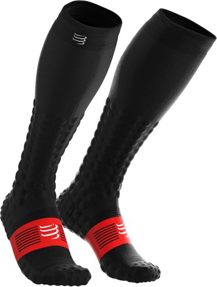 Picture of COMPRESSPORT - FULL SOCKS DETOX RECOVERY BLACK
