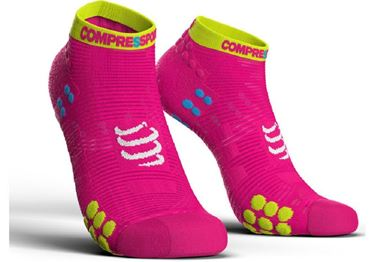 Picture of COMPRESSPORT - PRO RACING RUN SOCK LOW CUT V3.0 PINK