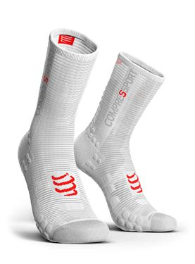 Picture of COMPRESSPORT - PRO RACING BIKE SOCK V3.0 WHITE