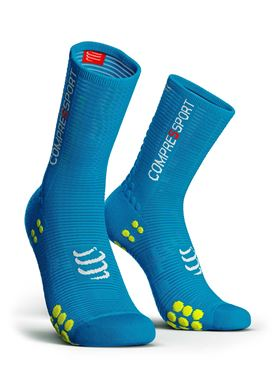 Picture of COMPRESSPORT - PRO RACING BIKE SOCK V3.0 BLUE