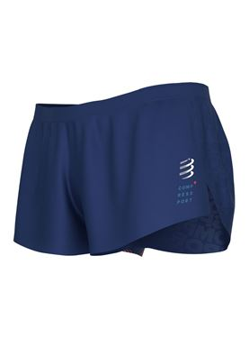 Picture of COMPRESSPORT - RACING SPLIT SHORT BLUE