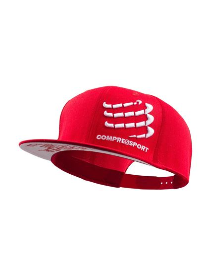 Picture of COMPRESSPORT - FLAT CAP RED