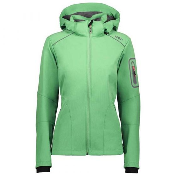 Picture of CMP - SOFTSHELL JACKET ZIPPPED HOOD WOMEN