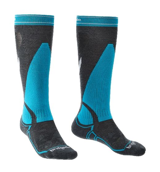 Picture of BRIDGEDALE - SKI MID WEIGHT OVER CALF SOCK