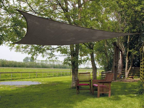 Picture of EUROTRAIL - SUN SHADE TRIANGLE 5M X 5M X 5M