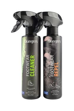 Picture of GRANGERS -  GEAR CLEANER + REPEL SPRAY TWIN PACK