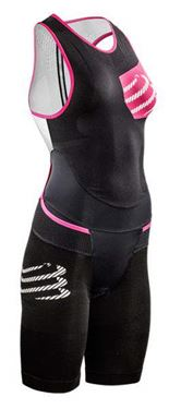 Picture of COMPRESSPORT - TR3 AERO TRISUIT W BLK S