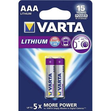 Picture of VARTA LITHIUM AAA