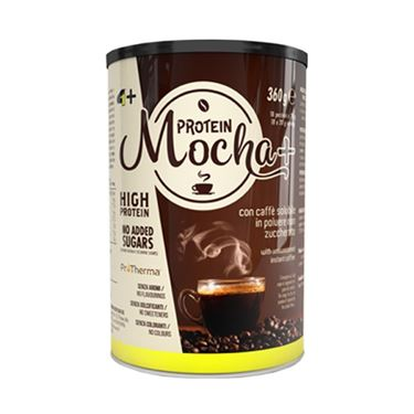 Picture of 4+ NUTRITION - MOCHA+ COFFEE PROTEIN