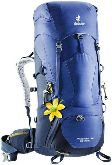 Picture of DEUTER - AIRCONTACT LITE 35+10 INDIGO - NAVY