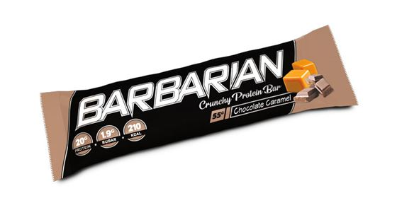 Picture of STACKER 2 - BARBARIAN PROTEIN BAR CHOCOLATE CARAMEL