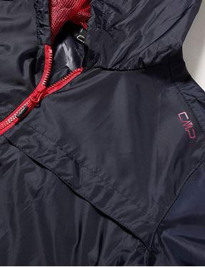 Picture of CMP WOMEN RAIN JACKET WITH FIXED HOOD