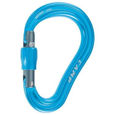Picture of CAMP - HMS NITRO LOCK CARABINER BLU