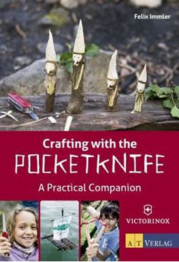 Picture of VICTORINOX - CRAFTING WITH POCKET KNIFE BOOK