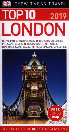 Picture of DK - TOP 10 LONDON TRAVEL GUIDE