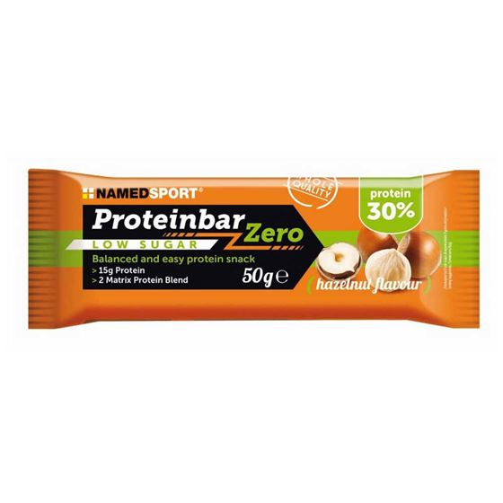 Picture of NAMED SPORT  PROTEIN BAR ZERO HAZELNUT