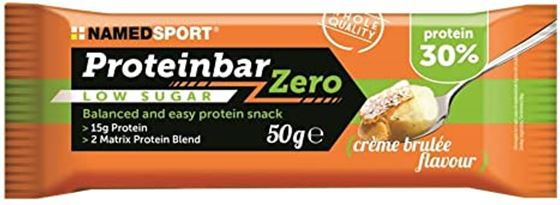 Picture of NAMED SPORT  PROTEIN BAR ZERO CREME BRULEE