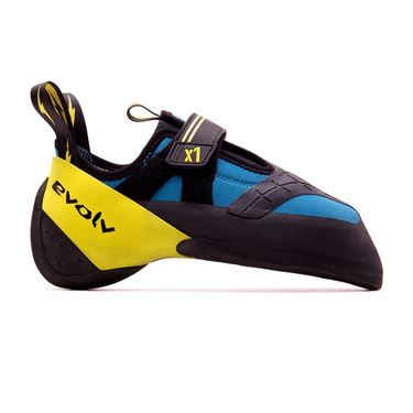 Picture of EVOLV X1 MEN CLIMBING SHOES SEAFOAM/NEON YELLOW