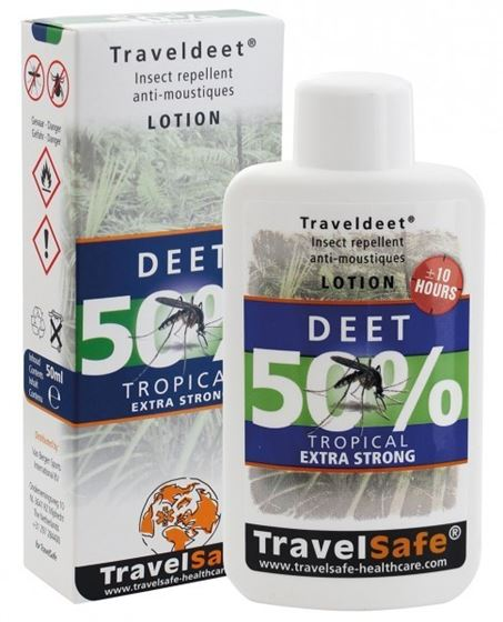 Picture of TRAVELSAFE - TRAVELDEET 50% SPRAY