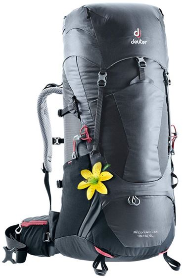 Picture of DEUTER - AIRCONTACT LITE 45+10 SL BLACK