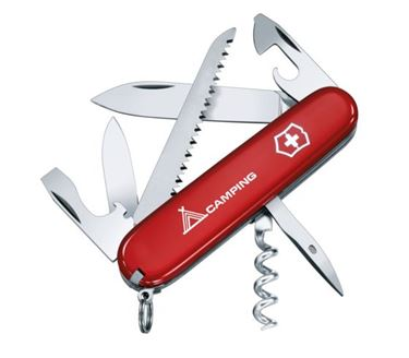Picture of VICTORINOX - CAMPER RED 2