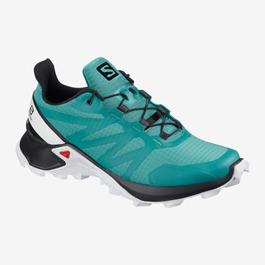 Picture of SALOMON - SUPERCROSS WOMEN TURQUOISE