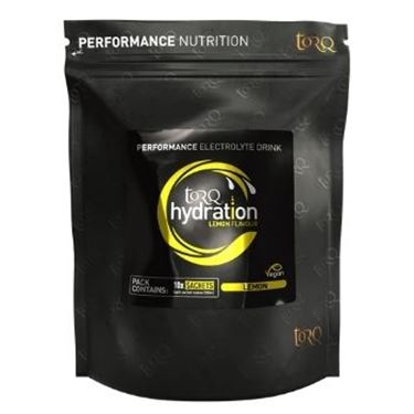 Picture of TORQ - HYDRATION 10X SACHETS LEMON